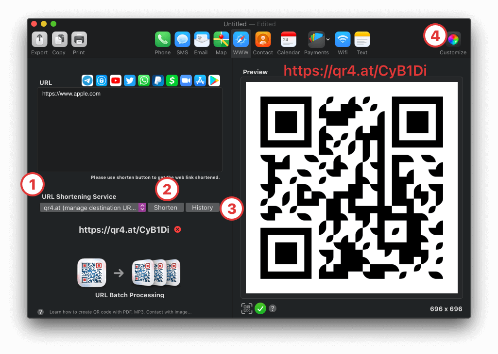 Dynamic QR code tutorial